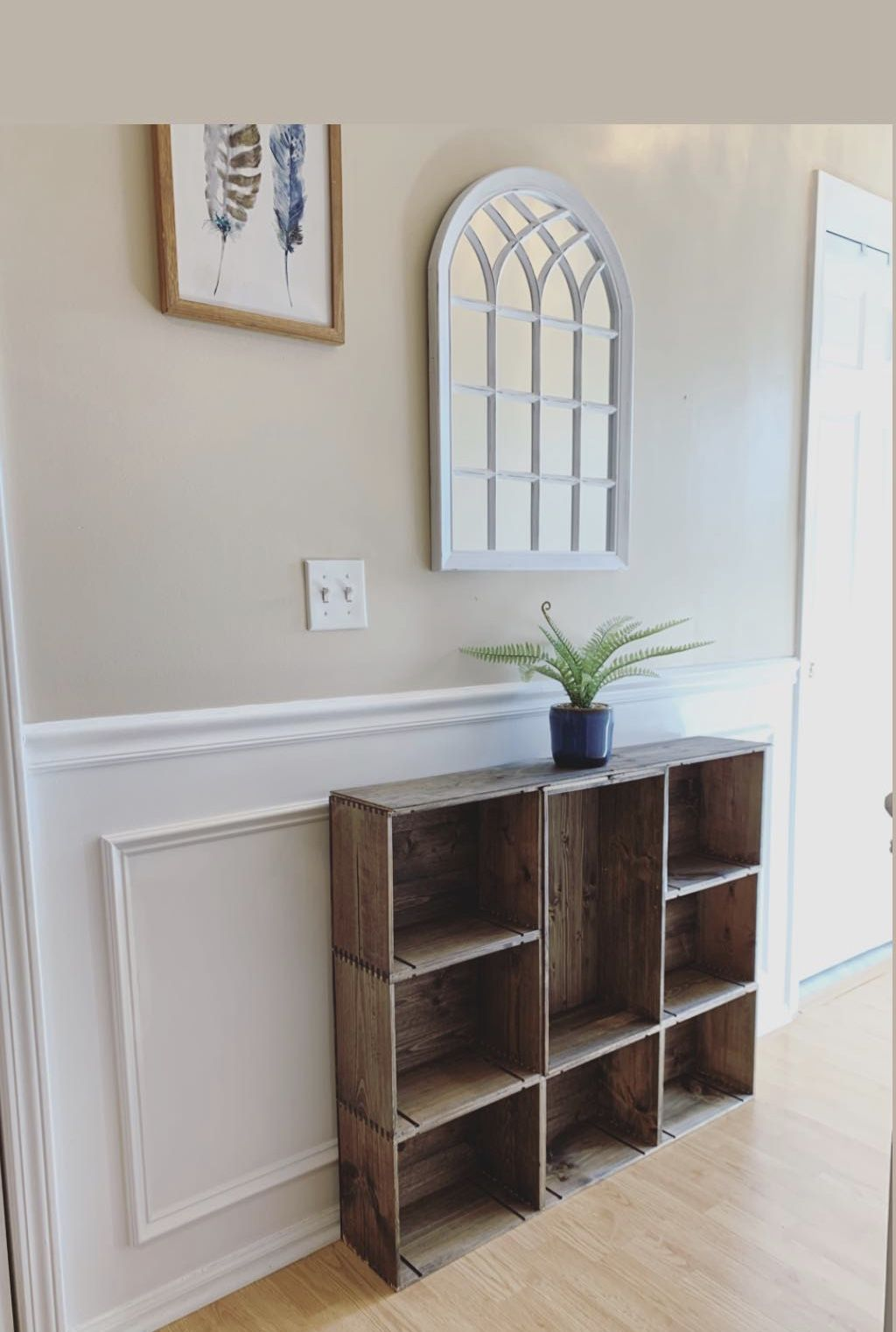 Diy Console Table Diy Console Table Wooden Wine Boxes Wine Box Crafts