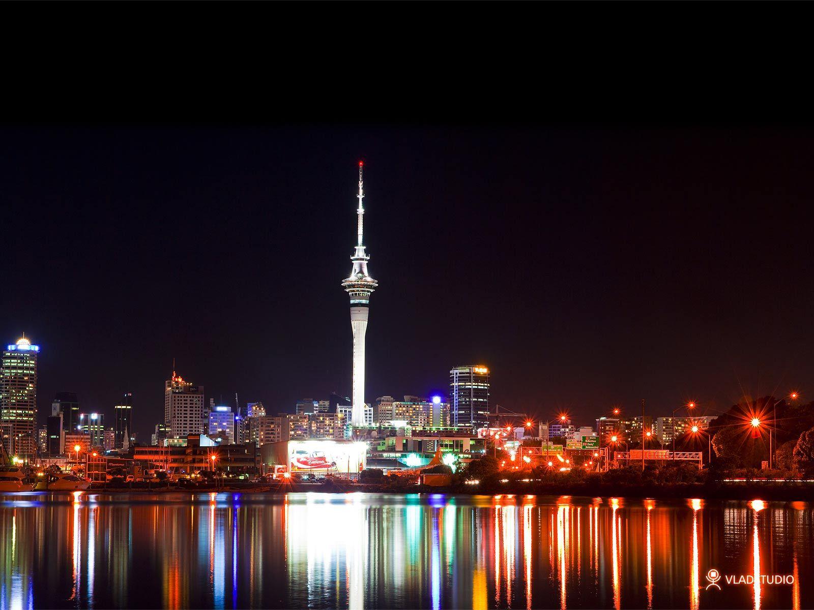 Auckland At Night Nz Home Nz