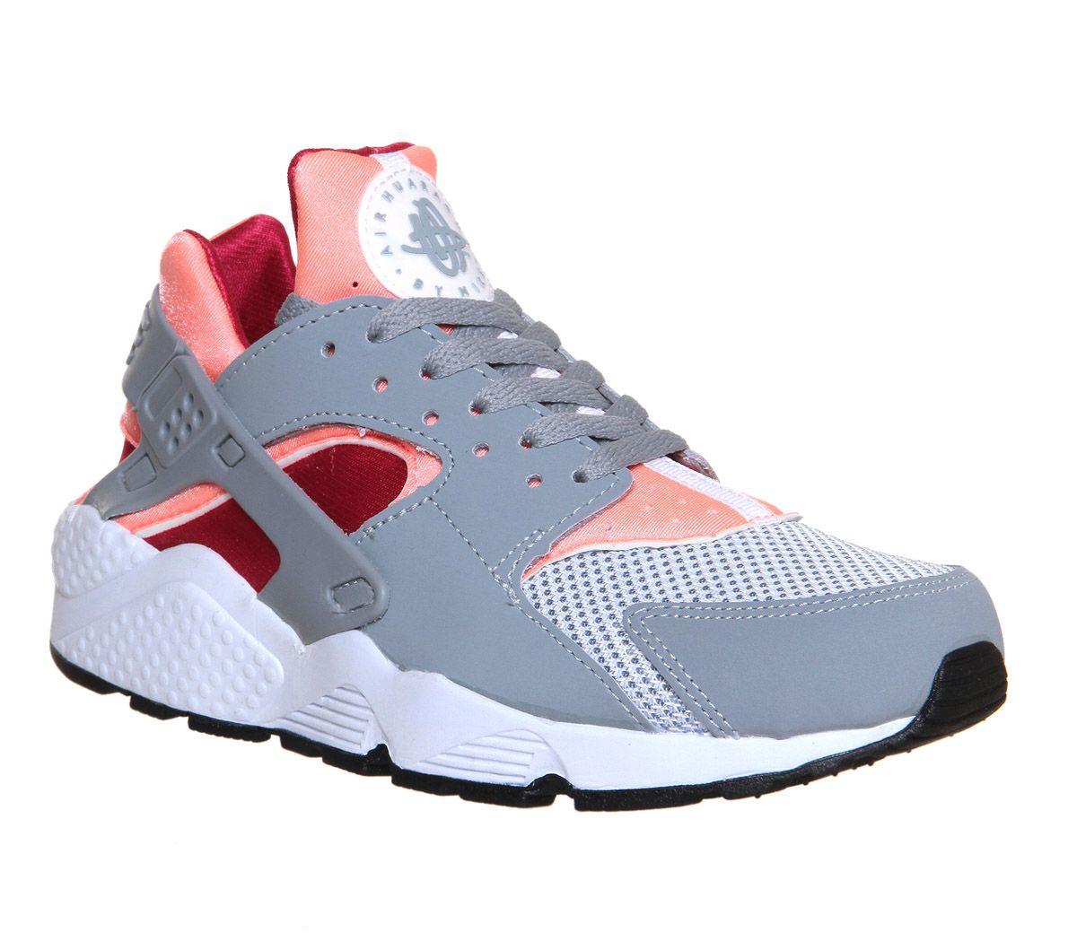 c7a616b03cd2 Nike Air Huarache Grey Pink Fuschia W - His trainers