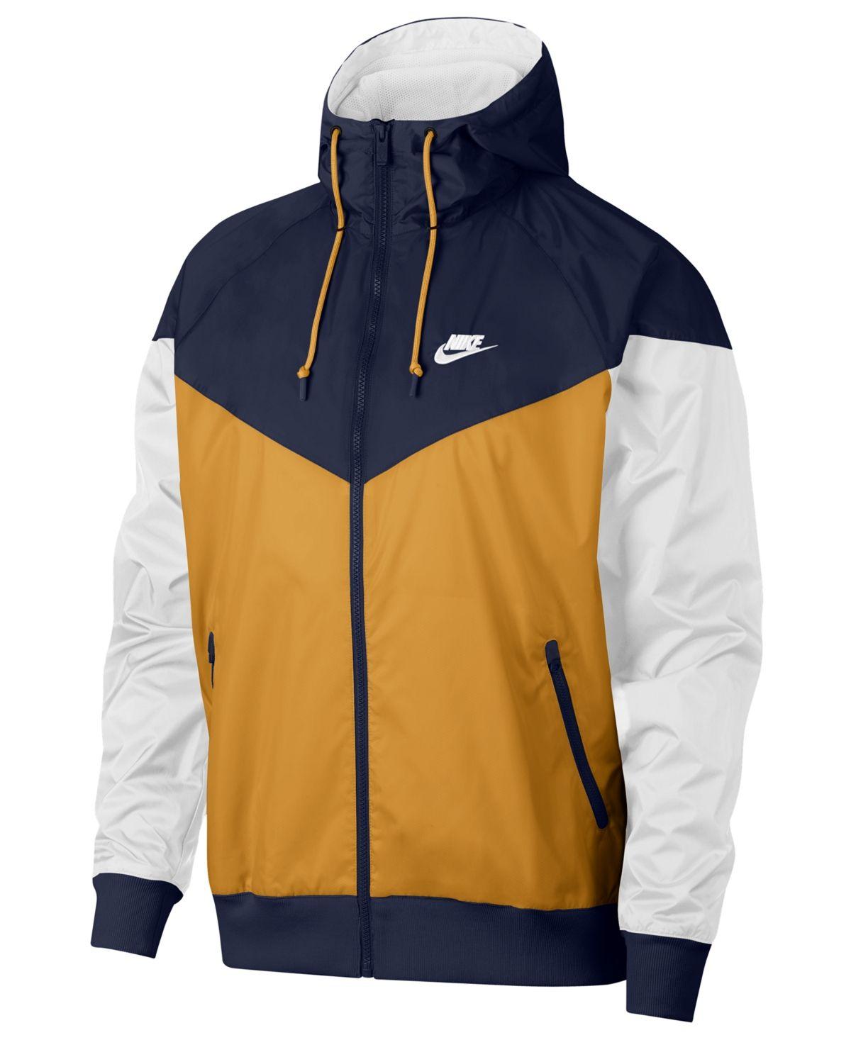 Mens sportswear, Windrunner jacket