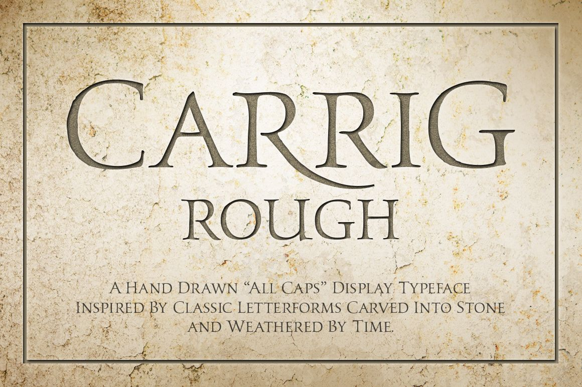 Carrig Rough by Paulo Goode on Creative Market