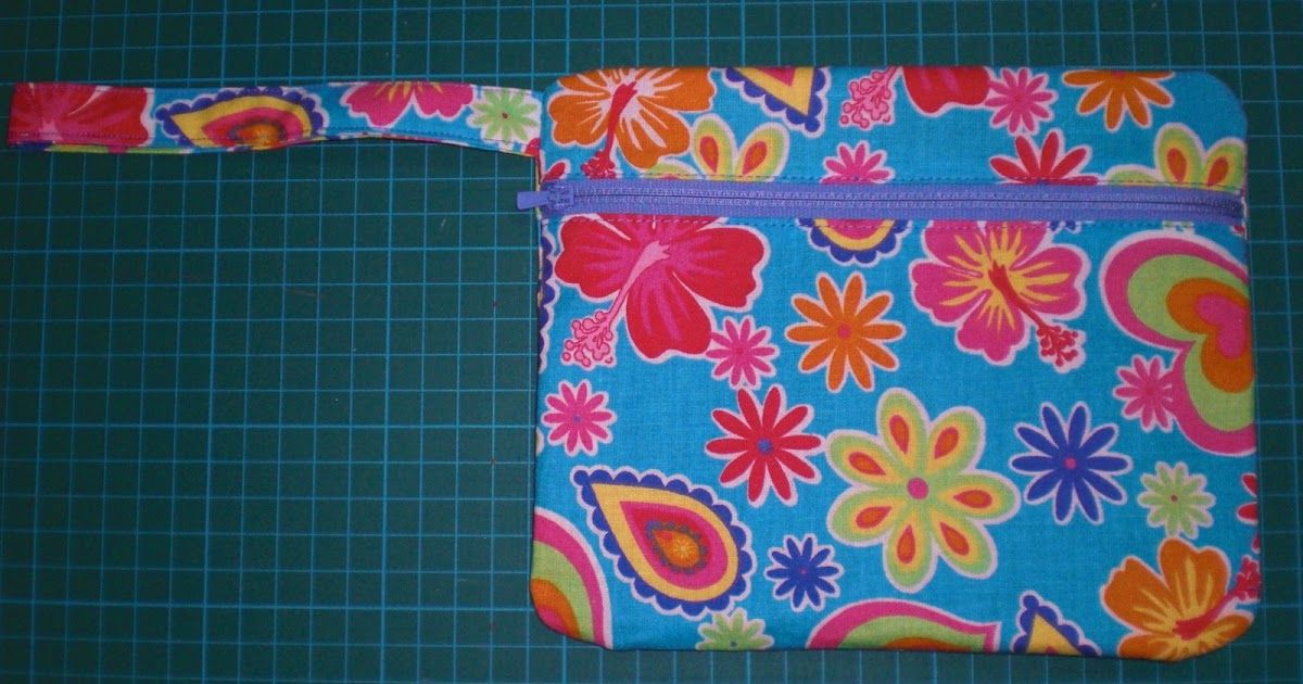 How To Make A Lined Zippered Pouch Tutorial And Pattern