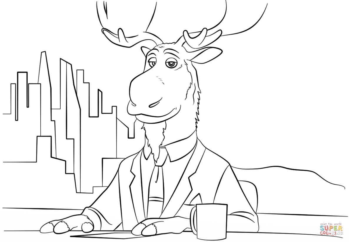 Zootopia coloring pages googlesøgning coloring pinterest