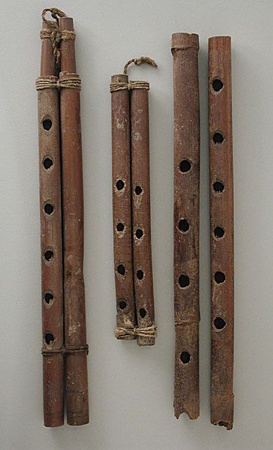 Flutes 1500 BC, Egypt The Los Angeles County Museum of Art