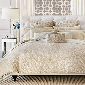 Vera Wang Sculpted Floral Bedding Bedding Collections Bedding Bed Bath Home Bloomingdale S Home Decor White Home Decor Luxury Bedding