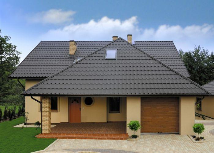 par exemple cest une maison avec toiture bac en acier - Maison Moderne Avectoiture
