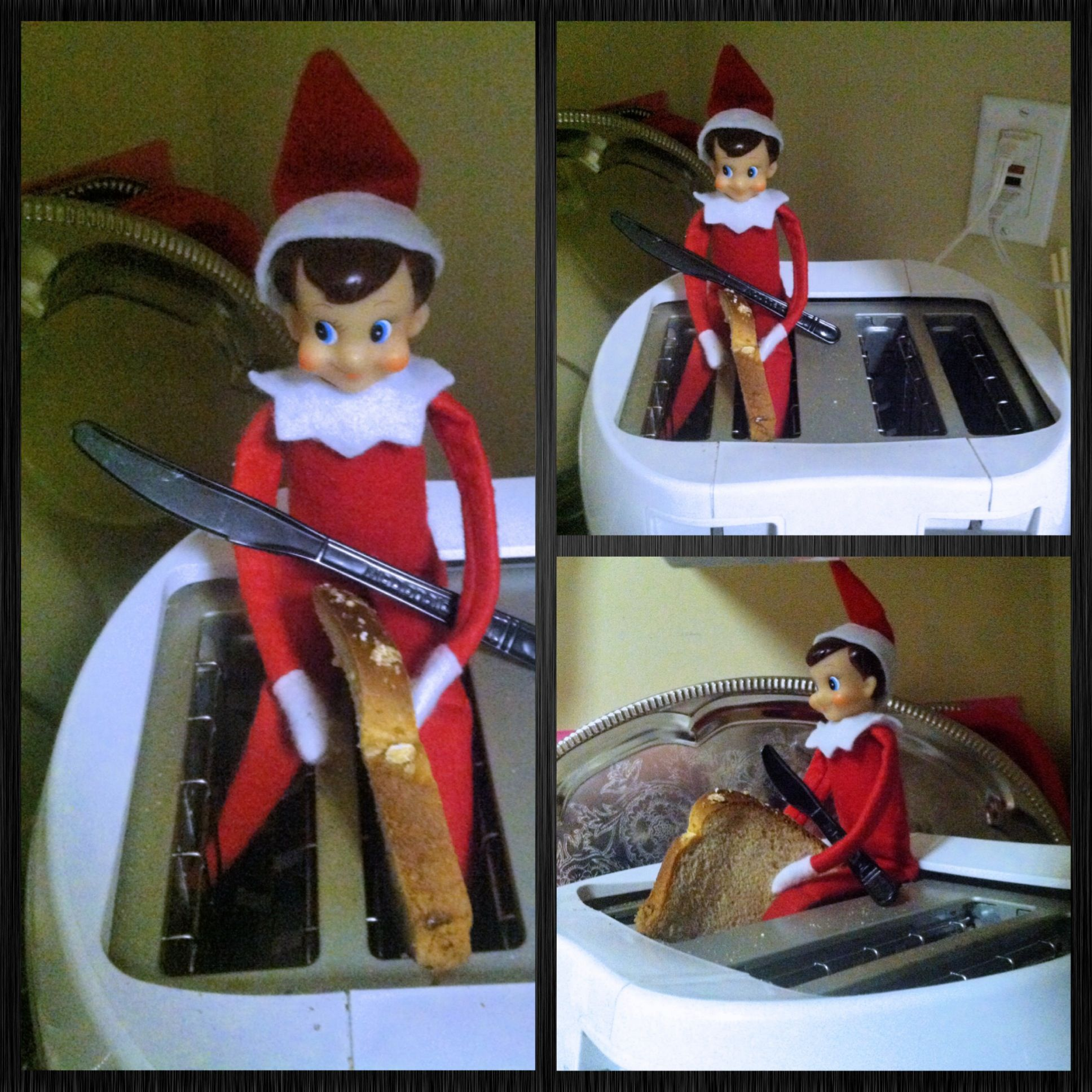 Toaster Elf On The Shelf Elf On The Shelf Elf The Elf