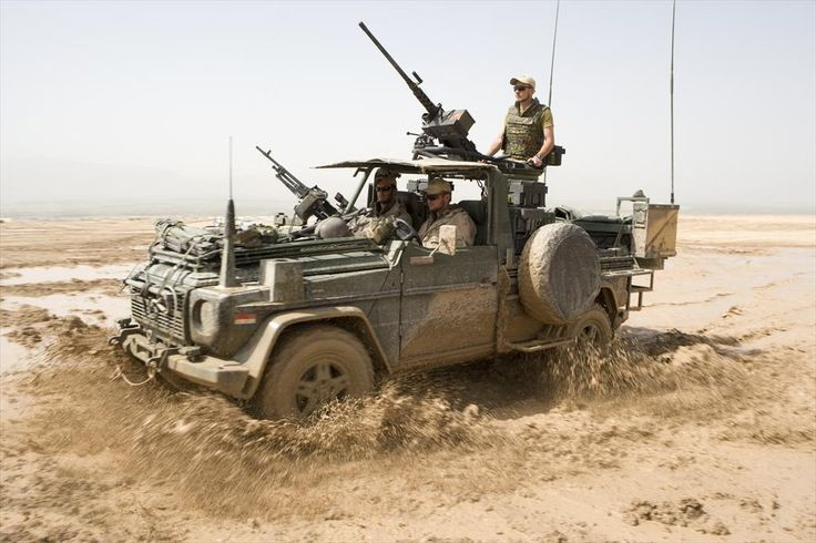MercedesBenz G-Class Royal Dutch Army ♛ Armed forces of the Netherlands ISAF in Afganistan