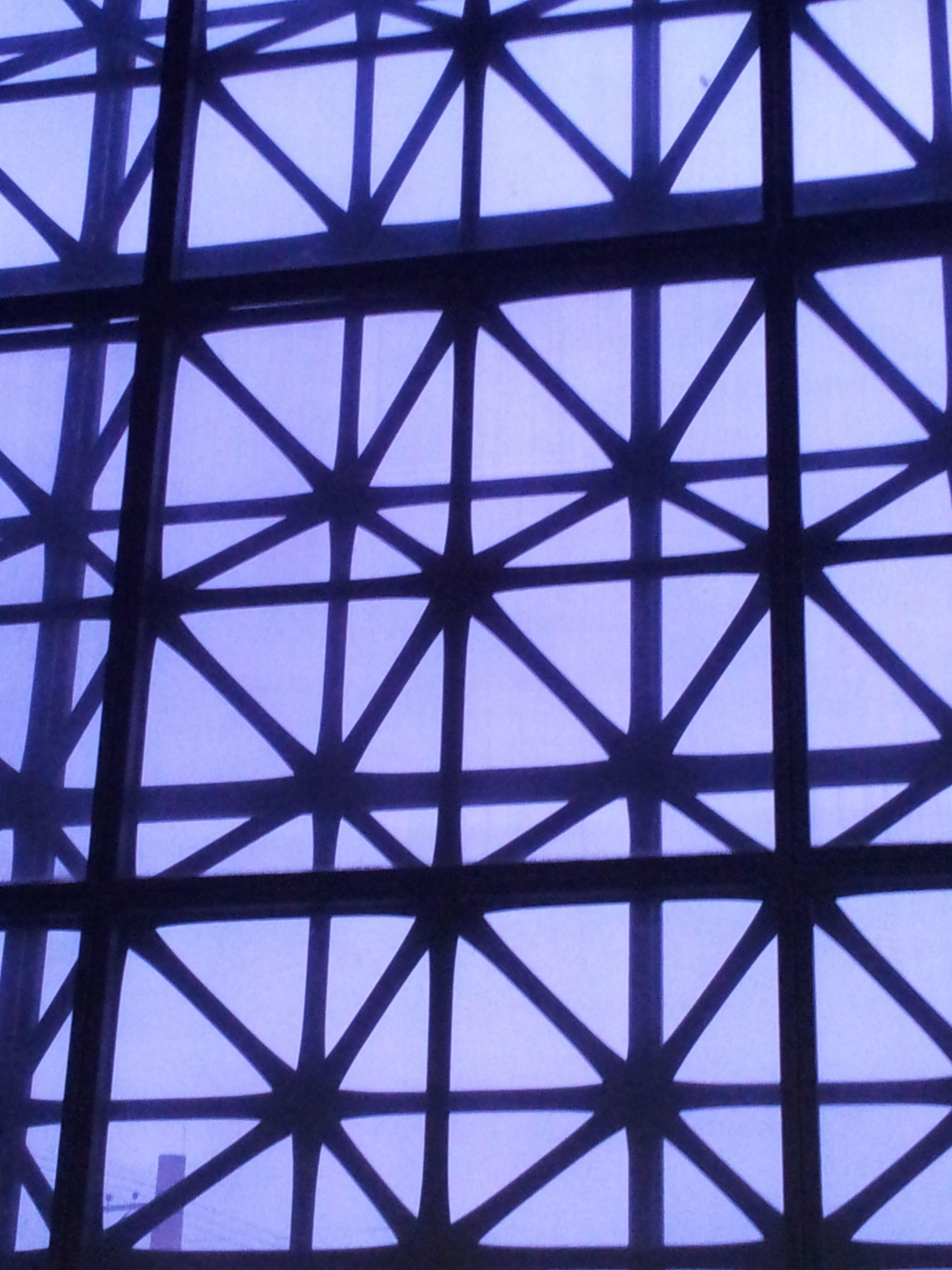 Padronagens na janela