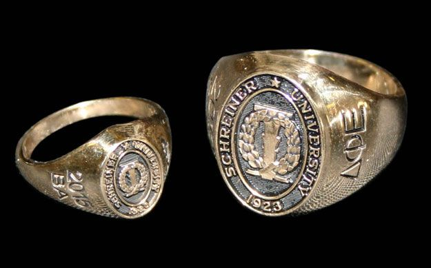 9019e89508fb2 Class Rings | Schreiner University | Class ring, Rings, Jewelry
