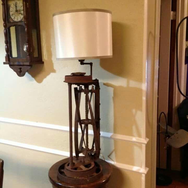 Lawn mower lamp