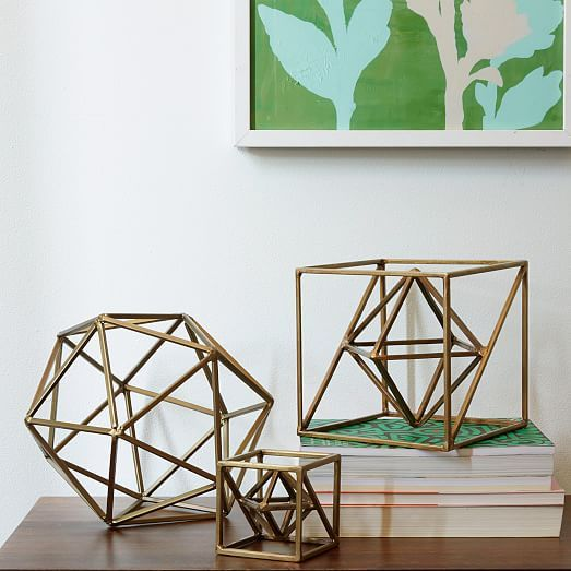 Symmetry Objects - Square  Decorative accessories, Contemporary