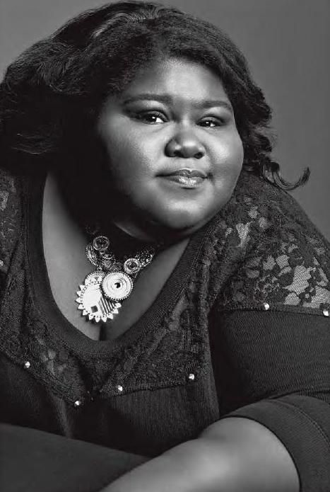 Gabourey Sidibe #ClippedOnIssuu from V89