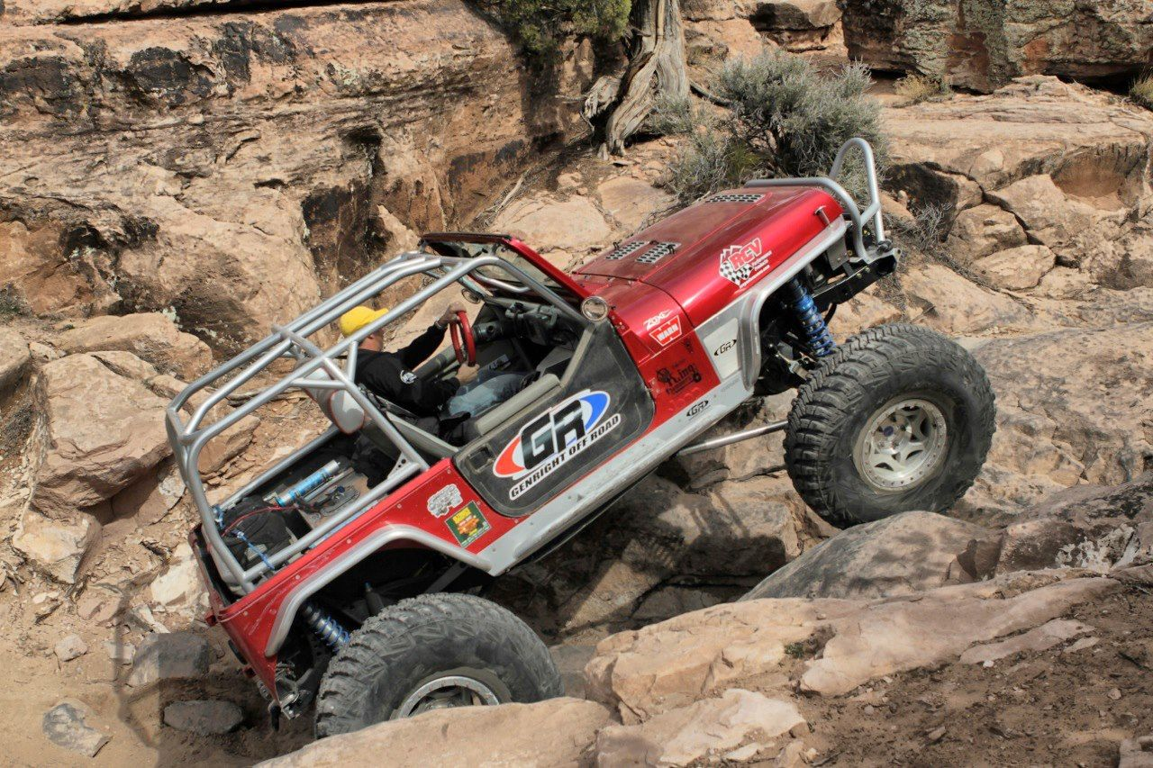 tony pellegrino in the genright yj rock crawling through moab jeep jeeping wheeling offroad. Black Bedroom Furniture Sets. Home Design Ideas