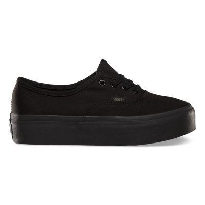 Authentic Platform | Black lace up shoes, Black platform