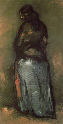 Gitana - Isidro Nonell (1872-1911)