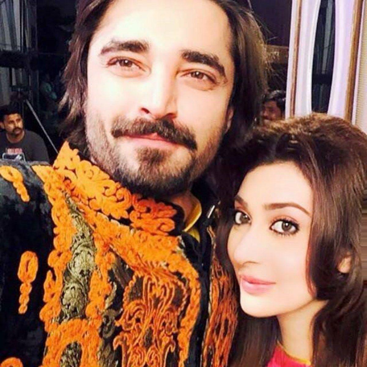 Hamza Ali Abbasi With Ayeza Khan