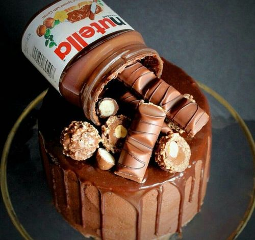 Cake Chocolate And Nutella Image Food Rezepte Torten Und