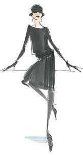 Bocetos De Moda Chanel Buscar Con Google Dolls Pinterest