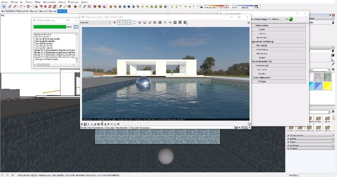This sketchup vray video tutorial provides demonstration on