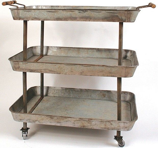 Ordinaire Kitchen Carts | Serving Cart | Kitchen Utility Cart $172 Antique Farm House