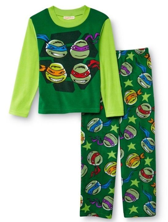 TEENAGE MUTANT NINJA TURTLES TODDLER BOY/'S 3PC SET PAJAMAS PJS VARIOUS SIZES NWT
