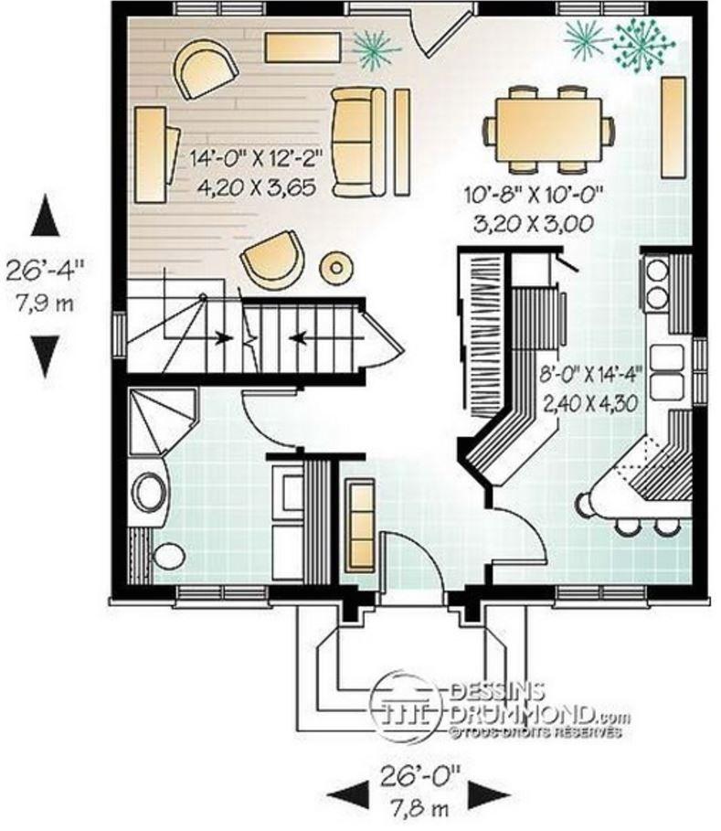 Modelos de casas sencillas para construir en 2 plantas - Casas de dos plantas sencillas ...