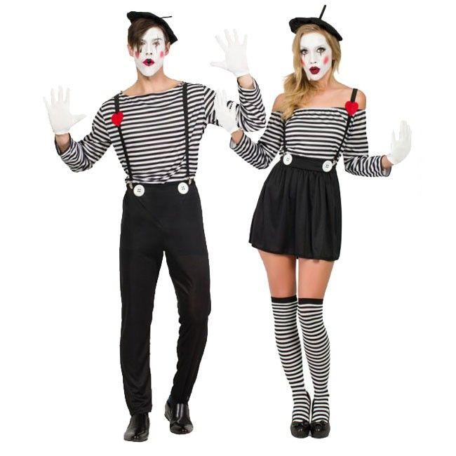 achetez d guisements mimes clowns d guisementscouples. Black Bedroom Furniture Sets. Home Design Ideas