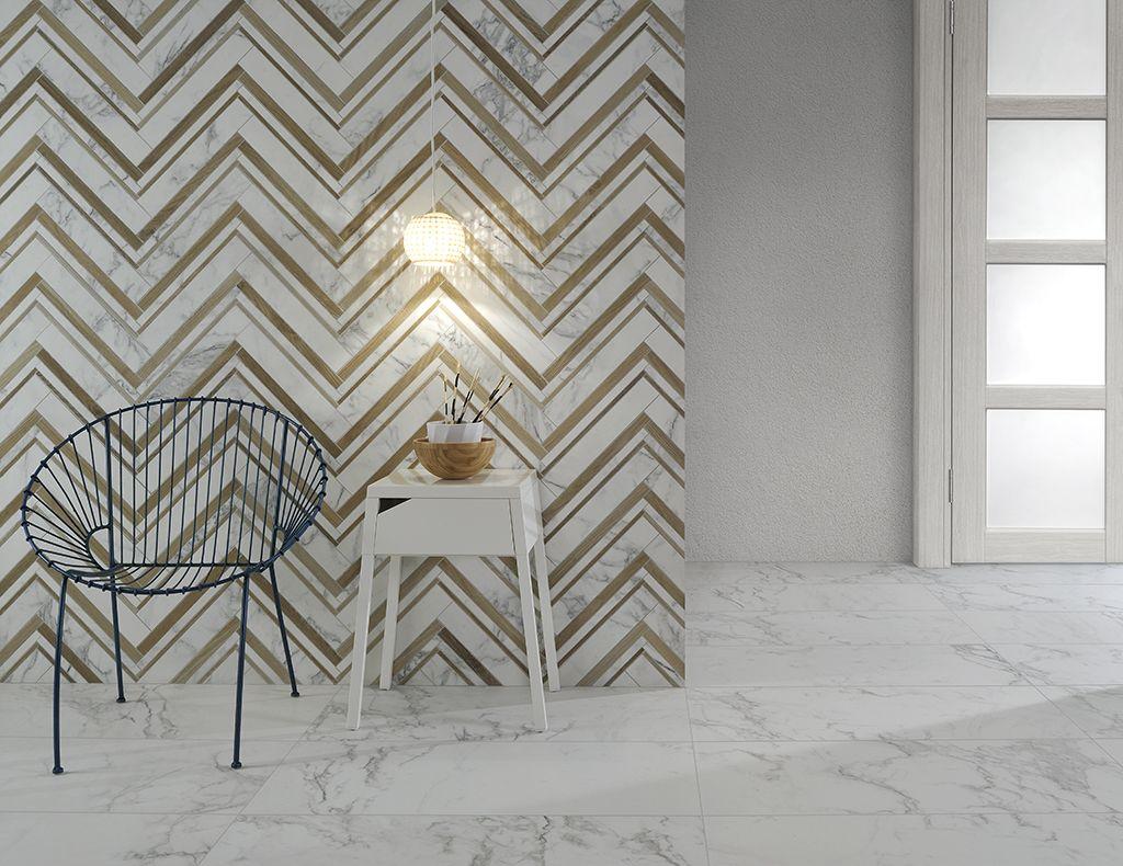 Carrelage Sol Et Mur Aspect Marbre Blanc I Bianchi Avec Images