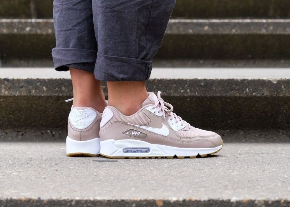 Nike Air Max 90 WMNS Essential Diffused TaupeWhite Gum 325213 210