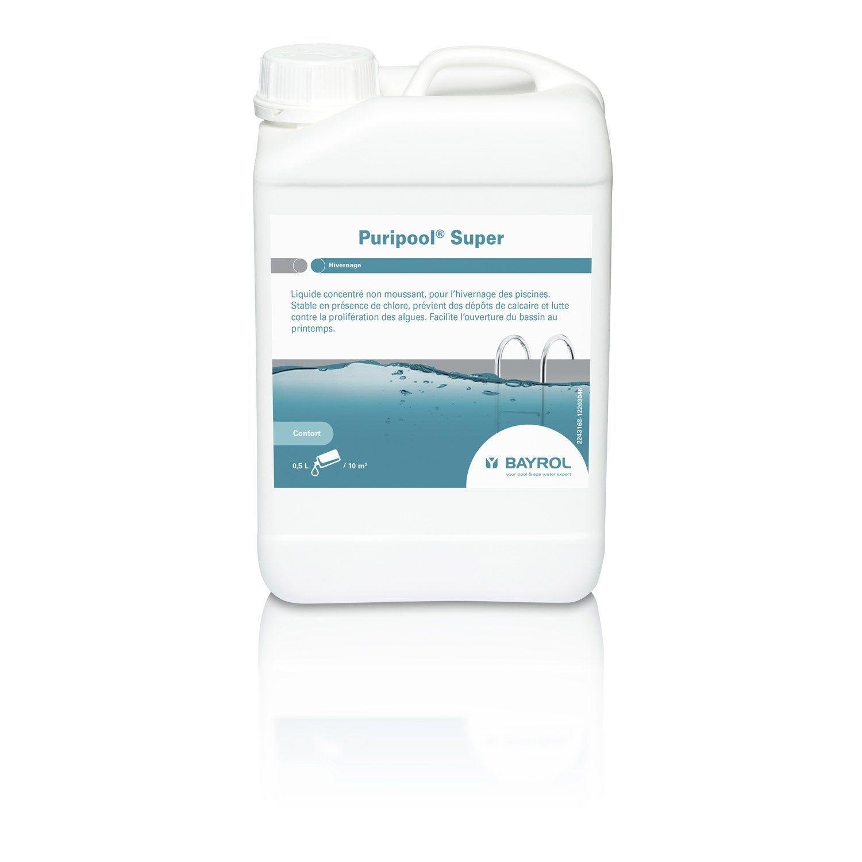 Hivernage Piscine Bayrol Puripool Super Liquide 3 L Piscine Liquide Bassin