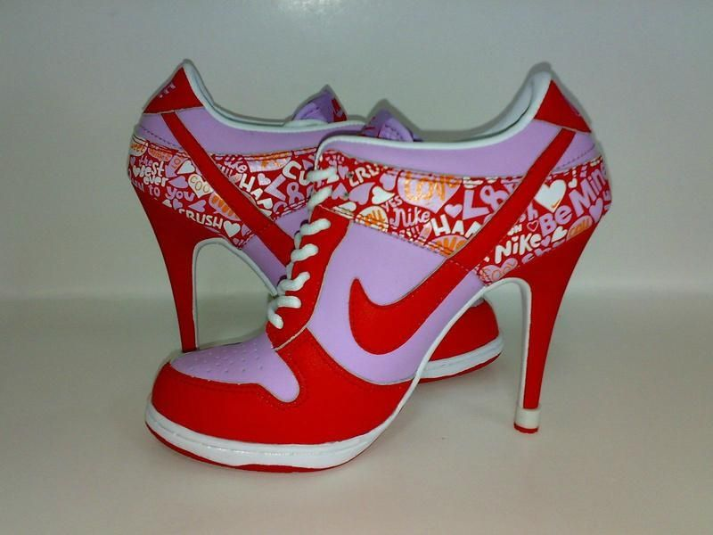 high heel nikes shoes