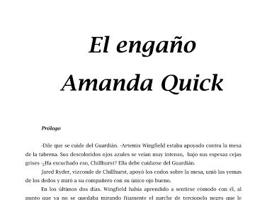 Amanda Quick Google Drive Intenso Cuidarse Ojos Azules