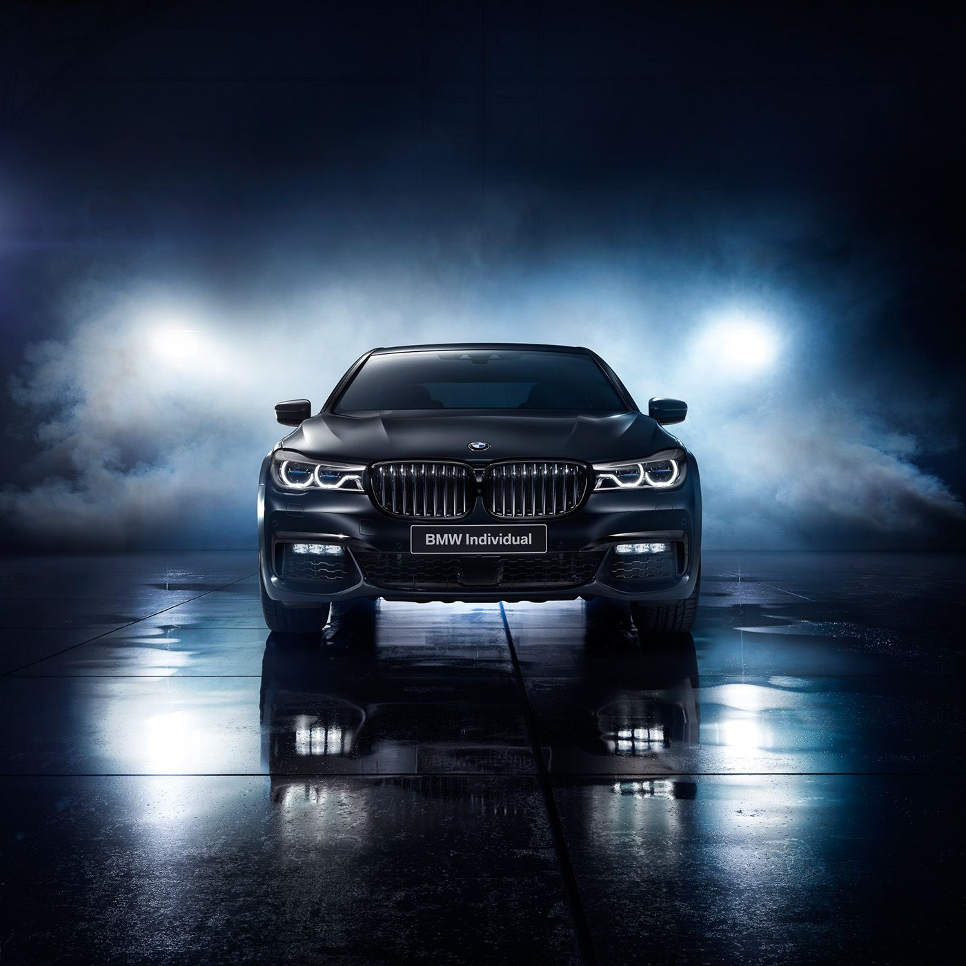 Bmw 7 Series Individual Edition Black Ice Shot For Bmw Russia