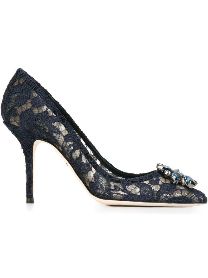 Dolce & Gabbana 'Belluci' pumps Blue   Escarpins