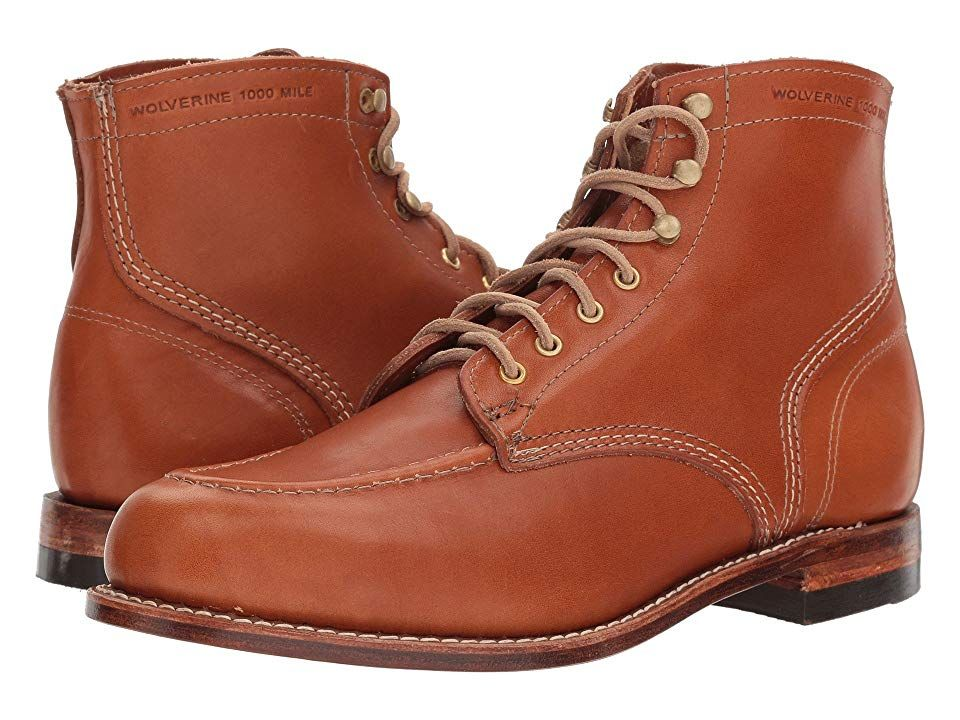 05b5ea331f3 Wolverine Heritage 1000 Mile 1940 Boot Men's Lace-up Boots Tan ...