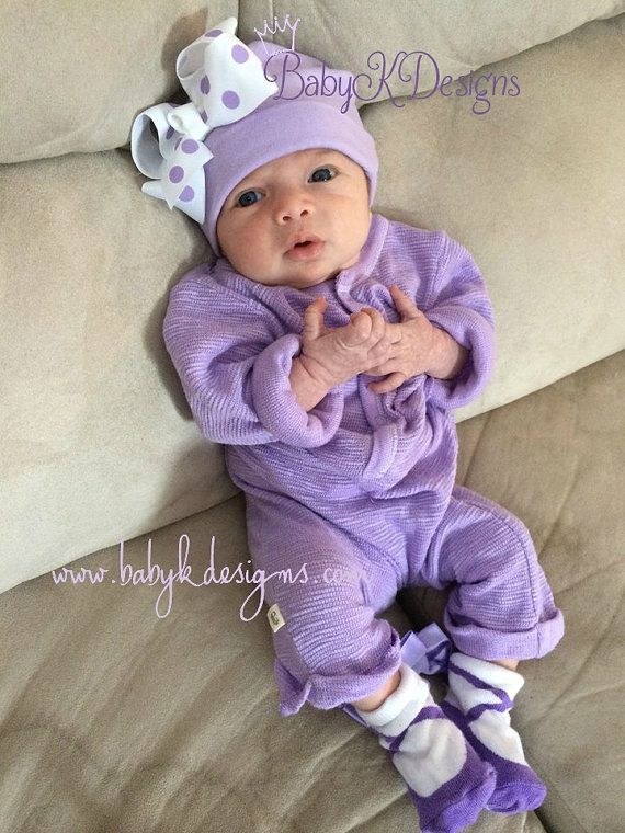 Newborn Cotton Hospital Hat   Newborn Baby Girl Beanies   Bow Beanie   by   BabyKDesigns www.babykdesigns.com ad88b5a7f15d