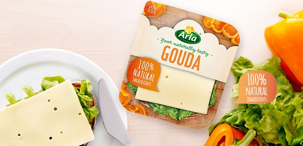 Arla Gouda Cheese Cheese Packaging Pinterest Gouda and - cheddar käse aldi