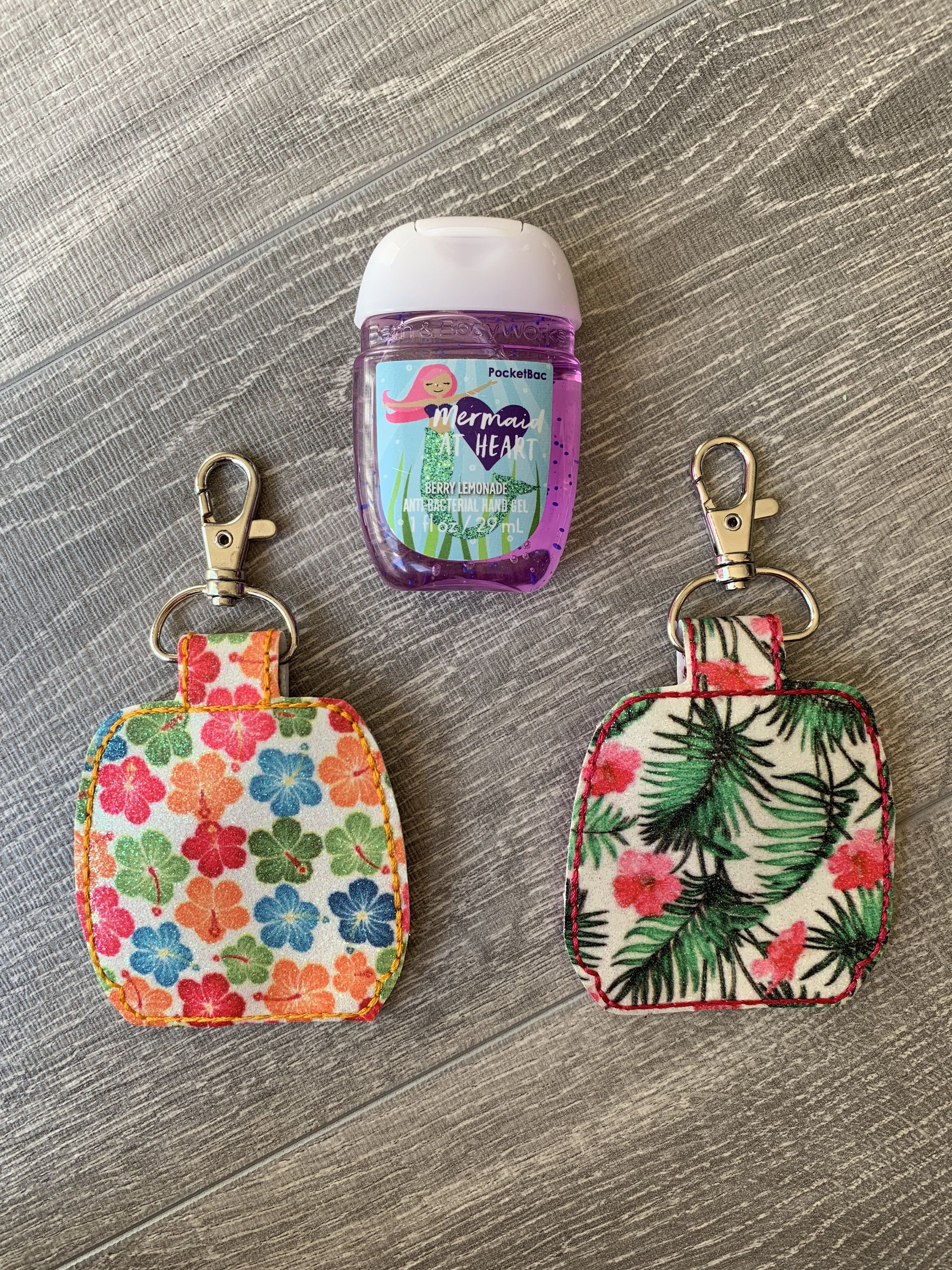 Hawaiian Hand Sanitizer Holder Sanitizer Holder Teacher Gift