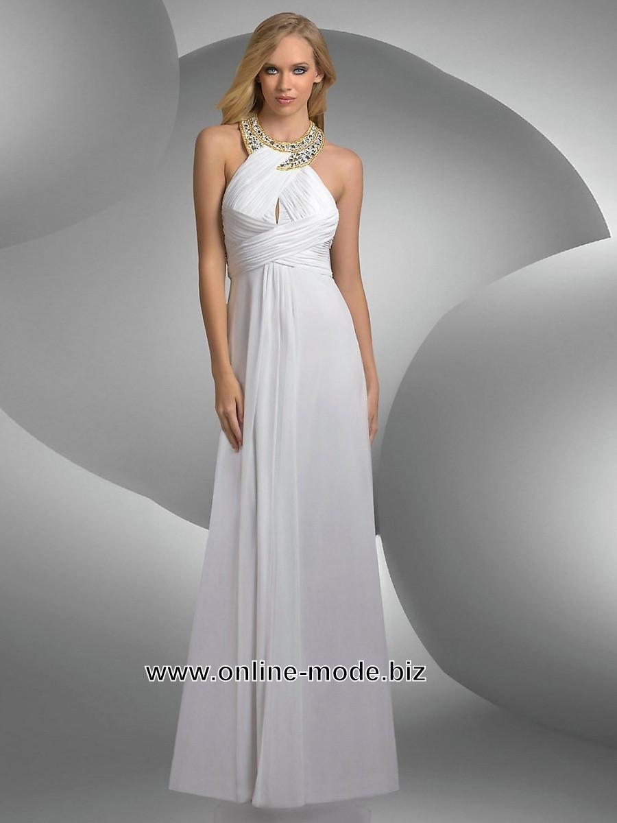 weisses abendkleid boden lang | abendkleid weiß, abendkleid