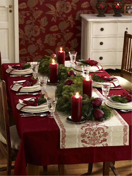 ideas para decorar tu mesa en navidad