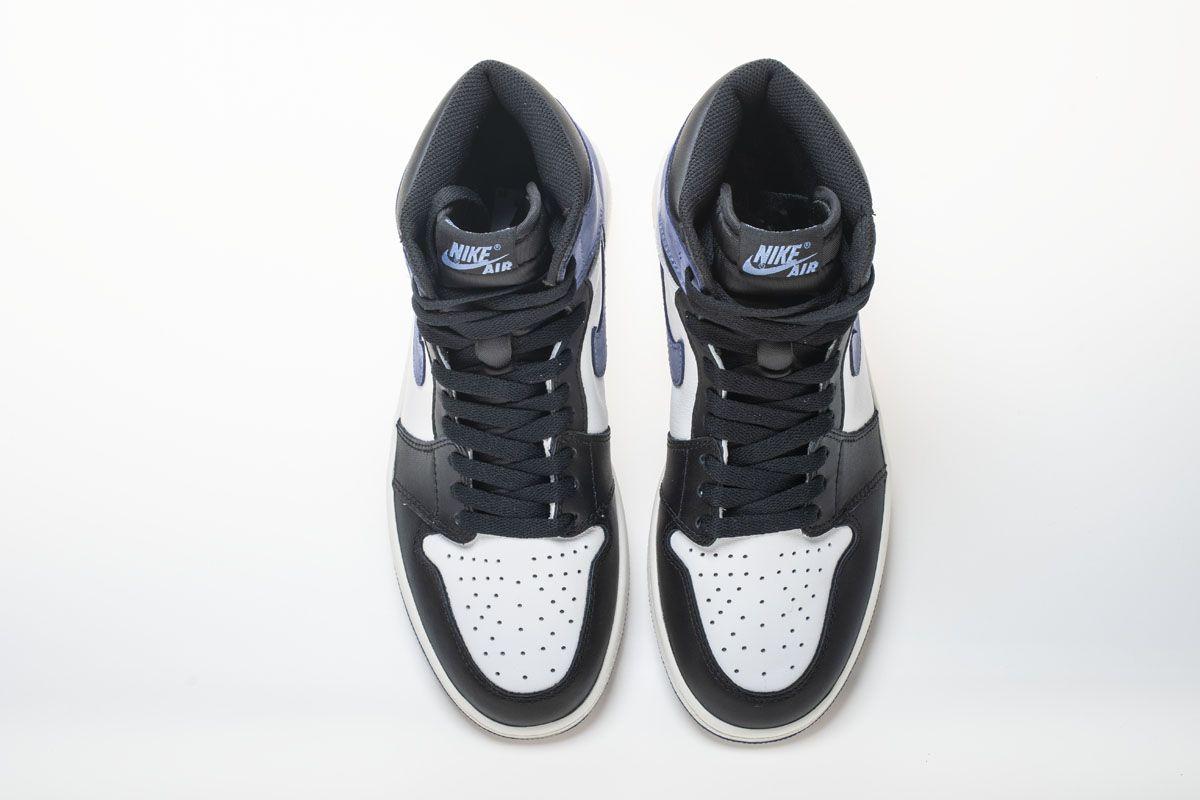 Air Jordan 1 Og High Retro Blue Moon 555088 115 Basketball Shoes 7