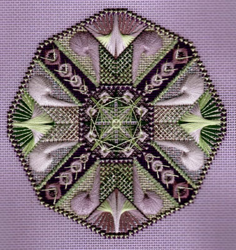Pierrette's Stitching Gallery: Czarina, The Dodecagon Series designed by Jim Wurth