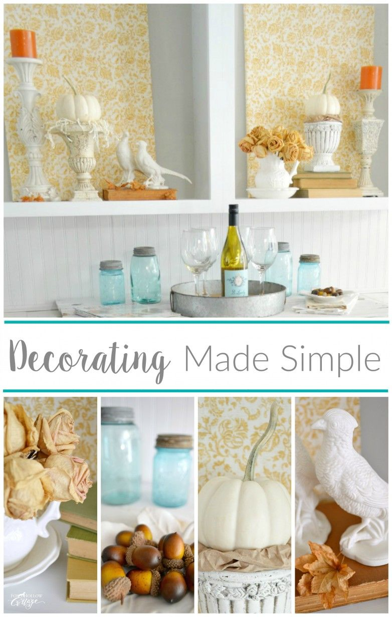 Cheap And Easy Empty Space Decorating Filler | Pinterest | Dead ...
