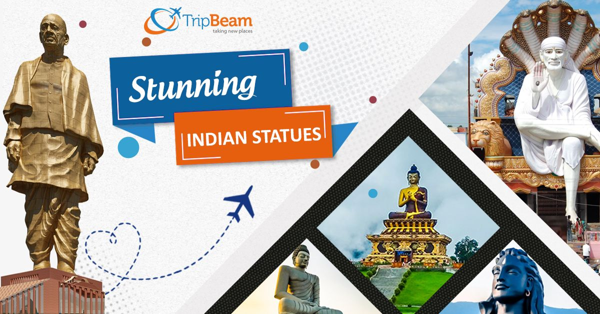 10 Jaw-dropping Statues in India!  Statues are amongst the oldest and most popular forms of public art. They have been in existence since prehistory. Check out the list of most popular statues in India. Read more...  #StatuesinIndia #USAtoIndiaFlights #StatueofUnity #PopularStatues #TravelDestinations #TraveltoIndia #USAtoIndia #IncredibleIndia