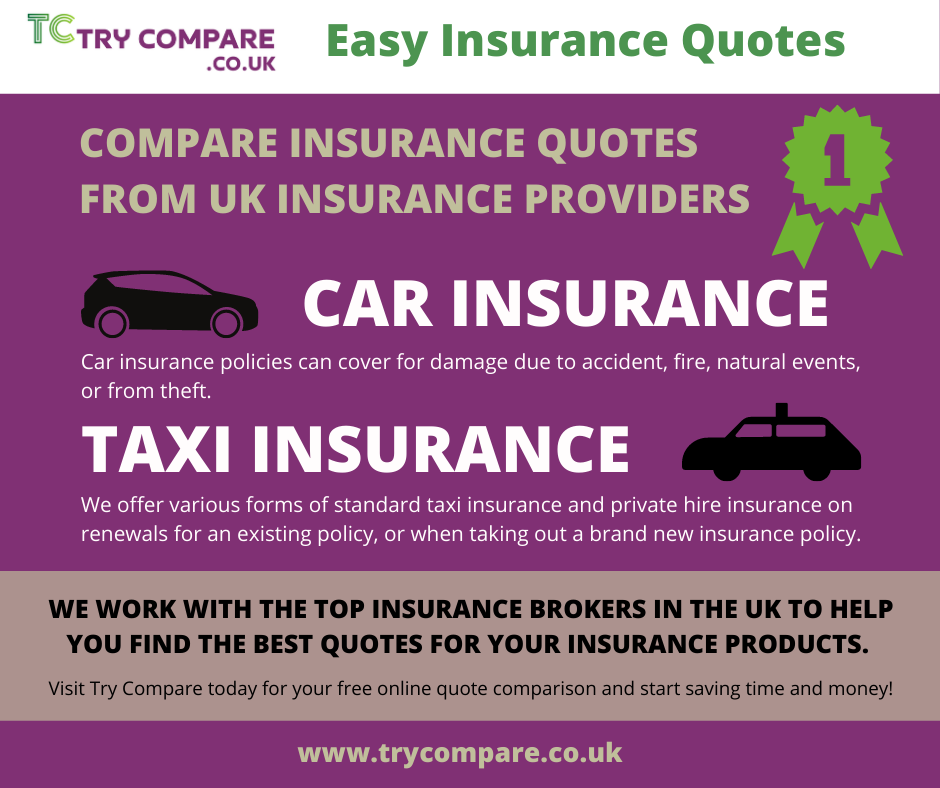 Car & Taxi Insurance Quotes - Try Compare in 2020 ...