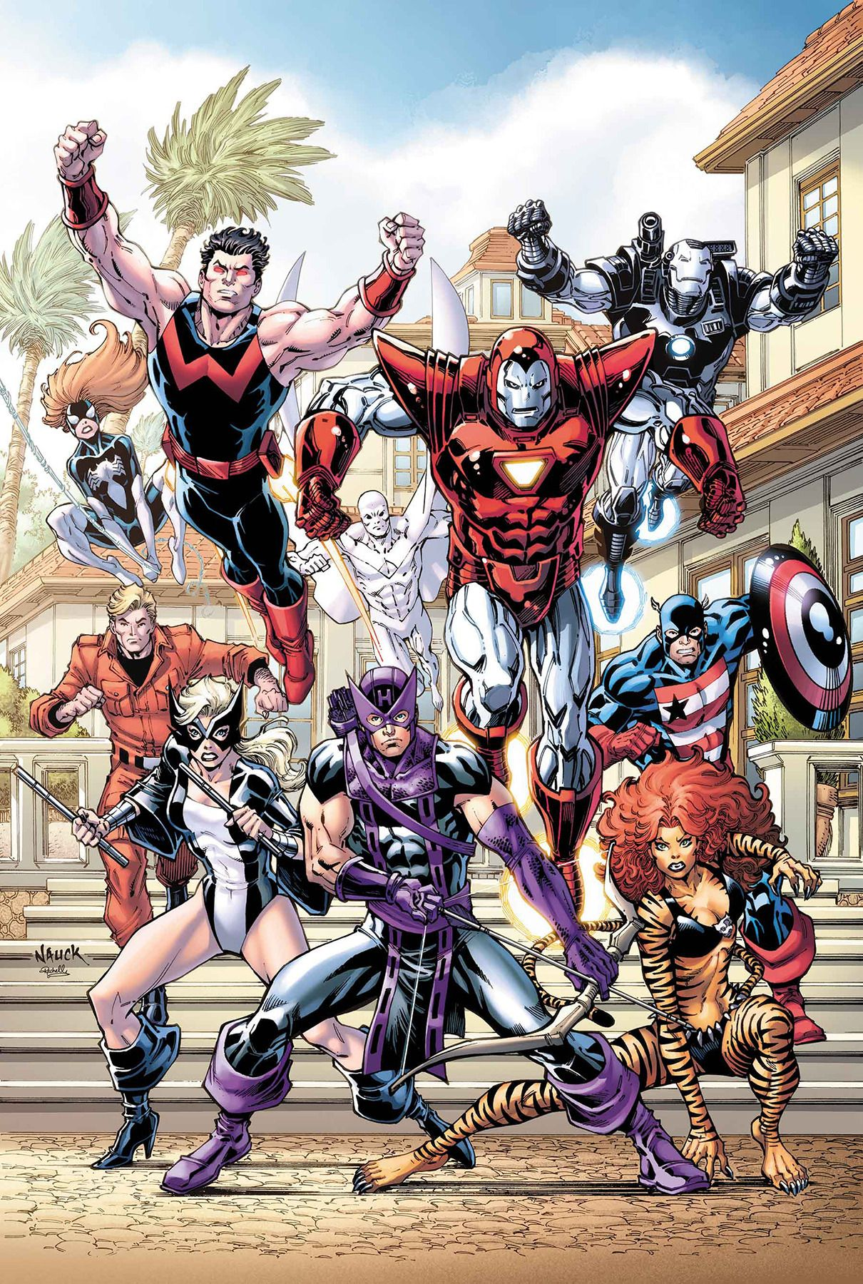 Todd Nauck Gone But Never Ever Forgotten Avengers West Coast