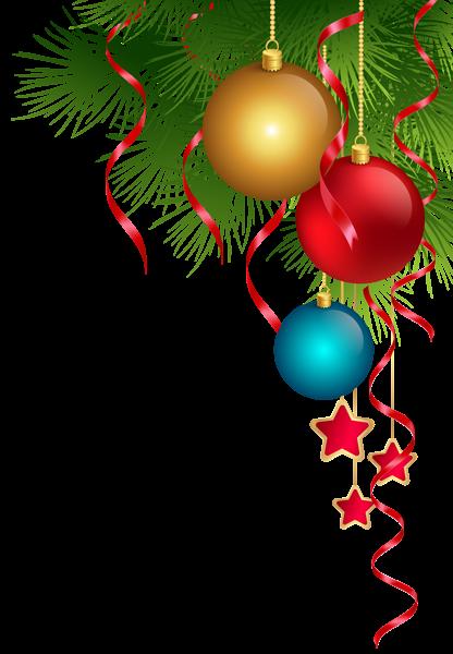 Transparent Christmas Decoration PNG Clip Art Image