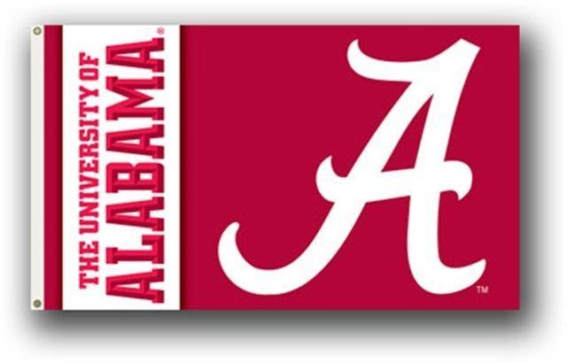 Alabama Crimson Tide Bama Large Grommet Flag Banner Alabama Crimson Tide Alabama Crimson Tide