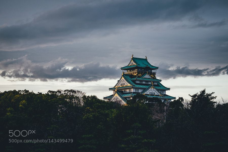 Popular on 500px : Osaka castle by _tuck4